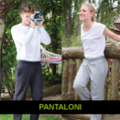PANTALONI UOMO/DONNA