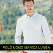 POLO MANICA LUNGA UOMO