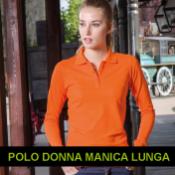POLO MANICA LUNGA DONNA