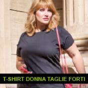 T-SHIRT DONNA TAGLIE FORTI