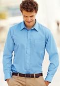 Camicia Popeline Uomo manica lunga