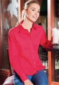 Camicia donna manica lunga POPELINE