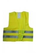 Gilet fluorescente di sicurezza