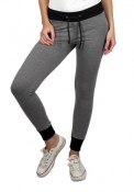 Pantalone donna in felpa stretch