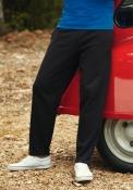 Pantaloni felpati fondo dritto