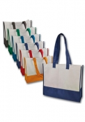 Shopper bicolore in TNT