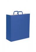 Shopper in carta kraft colorato 45x15x48 cm