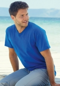 T-shirt Valueweight collo a V